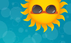 cartoon picture of the sun
