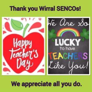 Thank you to Wirral SENCOs