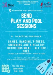 SEND PLAY and POOL FLYER